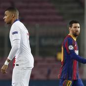 Mbappé face à Messi