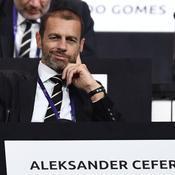 Le président de l'UEFA, Aleksander Ceferin - Crédit : FRANCK FIFE / AFP