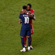 David Alaba et Neymar