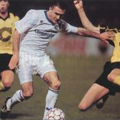Le 6 avril 1993, l'AJ Auxerre se frotte aux grands d'Europe