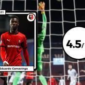 Les notes de Rennes face à Chelsea : Guirassy a fait le boulot, Camavinga a déçu