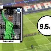 Les notes du PSG contre Barcelone : Navas sur un nuage, le naufrage de Kurzawa