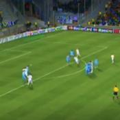 Le but de Cristiano Ronaldo face à l'Olympique de Marseille