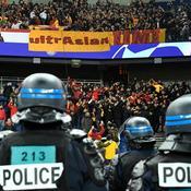 Incidents près du Parc des Princes avant PSG-Galatasaray