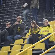 Les supporters de Dortmund