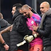 Manchester City finit son match ... sans gardien de but