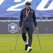 Kylian Mbappé vendredi soir au Stade de France