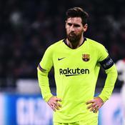 Messi maladroit et impuissant à Lyon