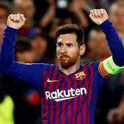 Messi crucifie l'OL et répond à Ronaldo