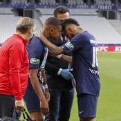 Kylian Mbappé et Neymar lors de la finale de la Coupe de France 2020