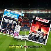 «Paris Libéré ! », «Fin de la malédiction» : la presse salue le retour du PSG en quarts de finale