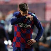 Piqué après la déroute du Barça : «Je serai le premier à m'en aller si le club a besoin de ça»