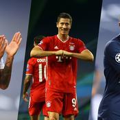 Neymar, Lewandowski et Mbappé