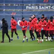 PSG à l'entraînement