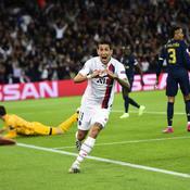 Angel Di Maria, auteur d'un doublé pour le PSG face au Real Madrid en Ligue des champions.