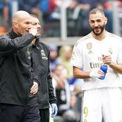 Zinedine Zidane et Karim Benzema