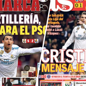 Real-PSG J-3 : La presse espagnole encense un Real Madrid «trépidant et électrique»