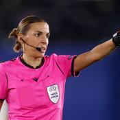Stéphanie Frappart, première femme désignée arbitre centrale en Ligue des champions