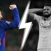 Tops/Flops Barcelone-Chelsea : Messi évidemment, Giroud sans allant
