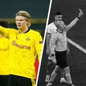 Tops/Flops Dortmund-Séville : duel de buteurs remporté par Haaland, l'incompréhension arbitral