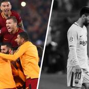 Tops/Flops Rome-Barcelone : éternelle Roma, l'ombre de Messi et Piqué