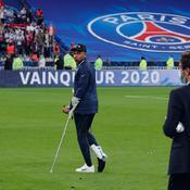 Victime d'une entorse, Mbappé très incertain contre l'Atalanta Bergame