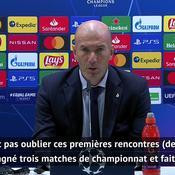 Zidane assume le fiasco face à Donetsk : «Je suis responsable»