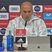 Zidane sur le forfait de Neymar avant PSG-Real : «Pas plus de méfiance»