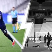 Marcus Thuram, le Stade de France vide