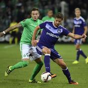 Au courage, Saint-Etienne arrache le nul contre Anderlecht