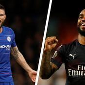 Chelsea-Arsenal : Giroud-Lacazette, duel de Frenchies à Bakou