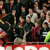 Coup de pied d'Evra : il y a 22 ans, le «Kung Fu» d'Eric Cantona