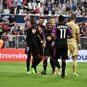 Sankharé donne un petit avantage à Bordeaux avant le retour