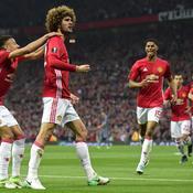 Manchester United a souffert mais tient sa finale