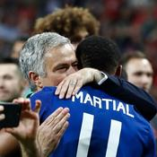 José Mourinho et Anthony Martial