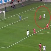 Pour son premier match officiel avec l'OM, Valère Germain s'offre un fabuleux triplé