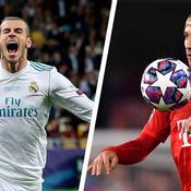 Gareth Bale et Thiago Alcantara