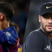 Philippe Coutinho et Neymar