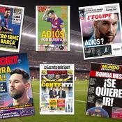«Guerre totale», «la bombe Messi», «Adios» : la presse s'enflamme pour l'Argentin