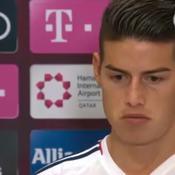 James sur le Real : «Je ne crois pas que je faisais partie des préférences de Zidane»