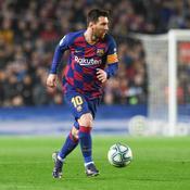 Lionel Messi lors du Clasico