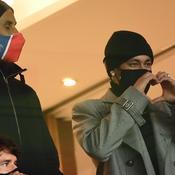 Keylor Navas et Neymar Jr