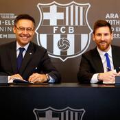 La démission du président du Barça pourrait faire changer d'avis Messi…