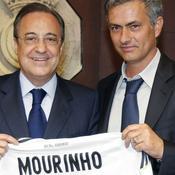José Mourinho et Florentino Perez