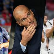 Edinson Cavani, Zinedine Zidane et Toni Kroos