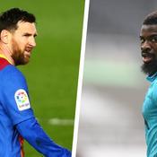 Lionel Messi & Serge Aurier