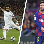 Marcelo et Lionel Messi