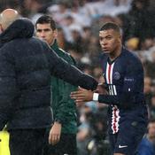 Kylian Mbappé et Zinédine Zidane