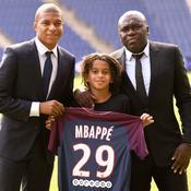 Kylian Mbappé et sa famille