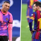 Mbappé Messi